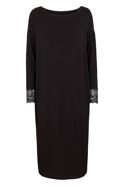 3472L - Viscose jersey Dress - Black