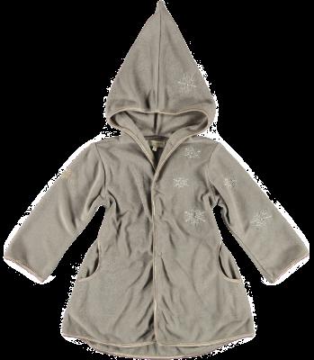 2209 - Fleece Coat - Stone
