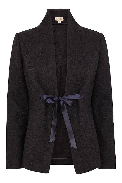 3428L - Wool jacket - Dark shadow