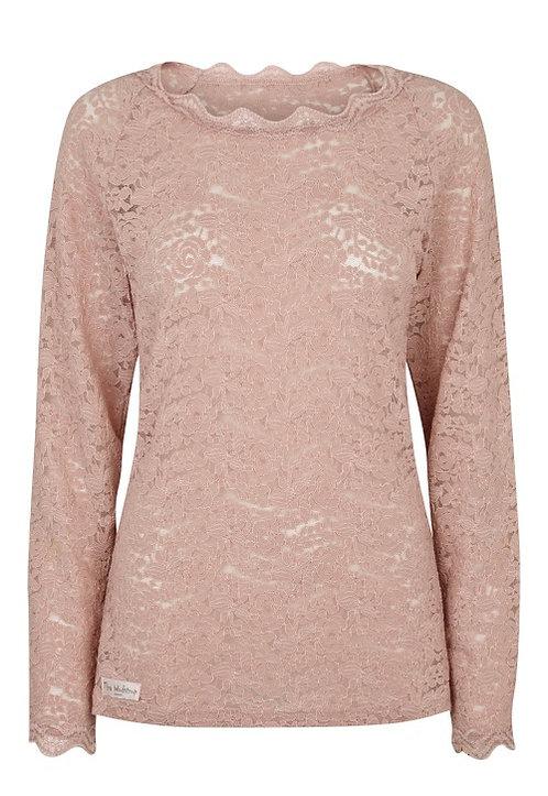 2831C - Lace blouse - Rosa
