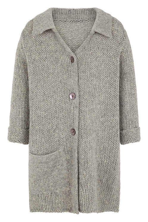 3630H - Wool Bamboo coat - Grey