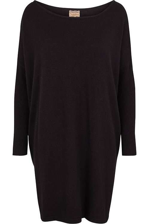 3223L - Cashblend Blouse - Black