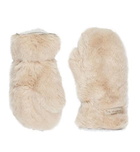 Gloves – Beige Fur