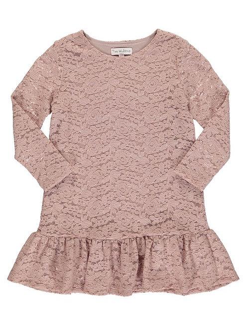 2868C - Lace dress - Rosa