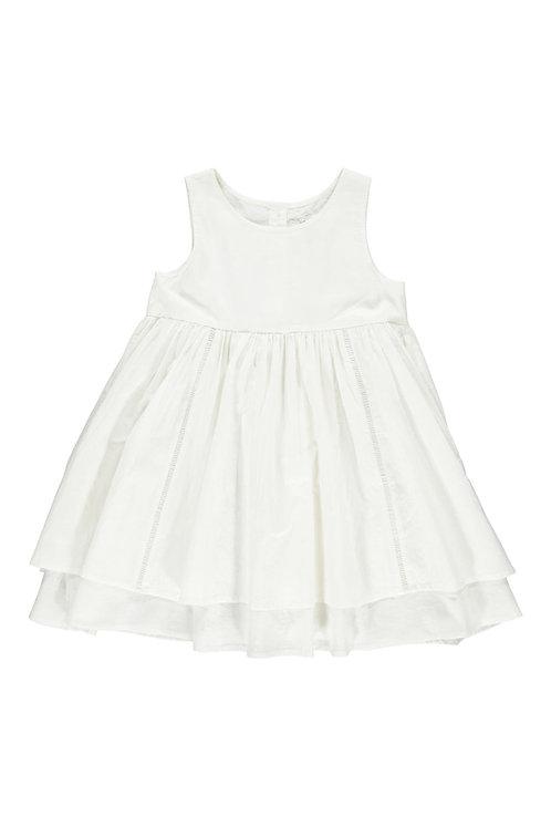 3823B - Cotton dress - Off-white