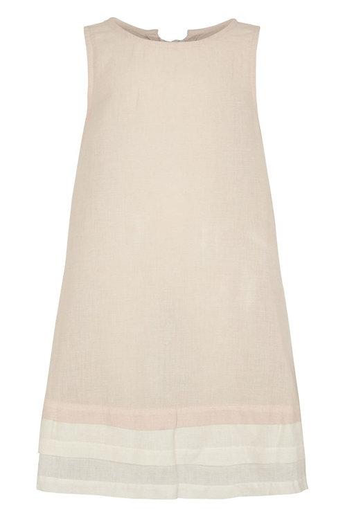 Linen dress - Mauve