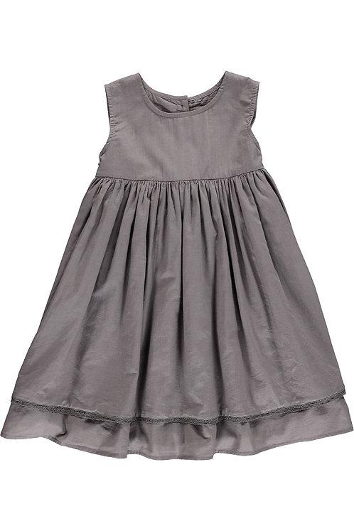 3823J - Cotton dress - Mink