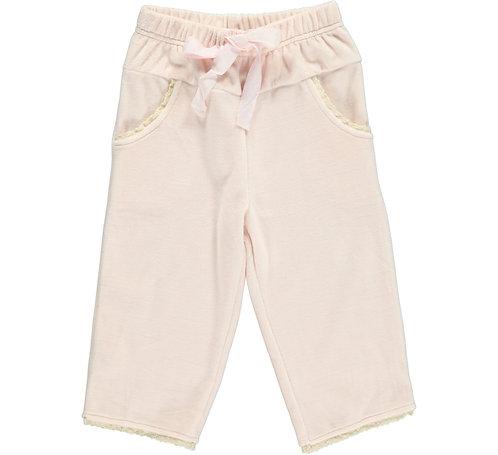 2361C - Velvet pants - Rosa
