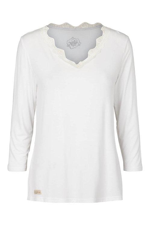 3662C - V blouse - Mauve / Rosa
