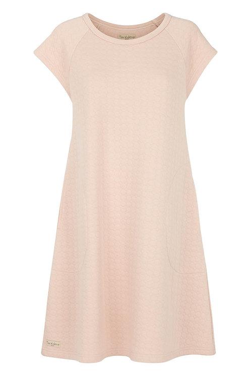 Cotton bubble Dress - Mauve