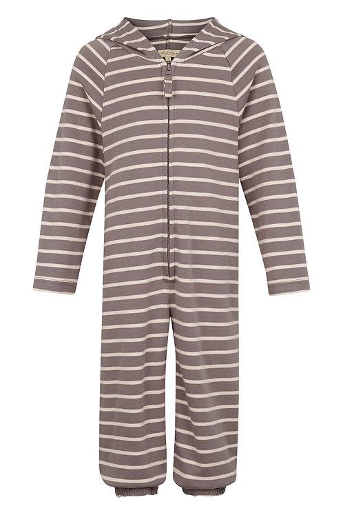 2641C - Stripe Jumpsuit - Rosa/mole
