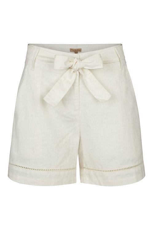 2733B - Linen shorts - Off.White