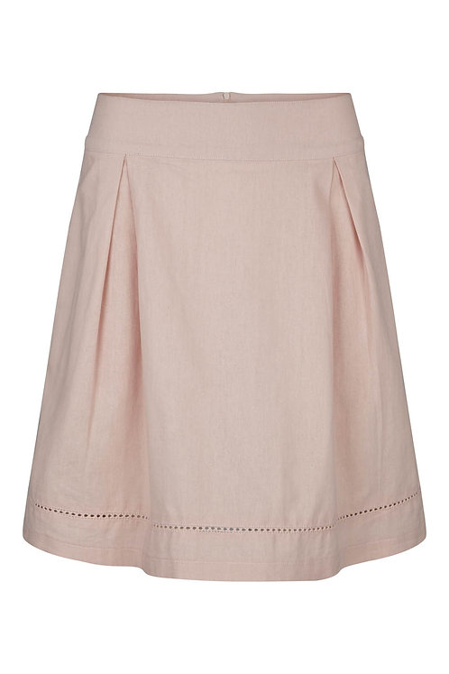 2735B - Linen Skirt - Off.White