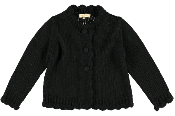 2240 Wool blend Cardigan - Black