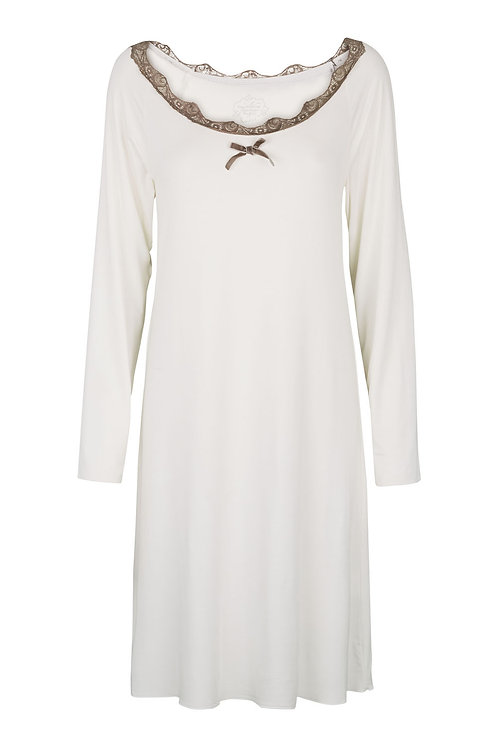 2535B - Night gown – Off-white
