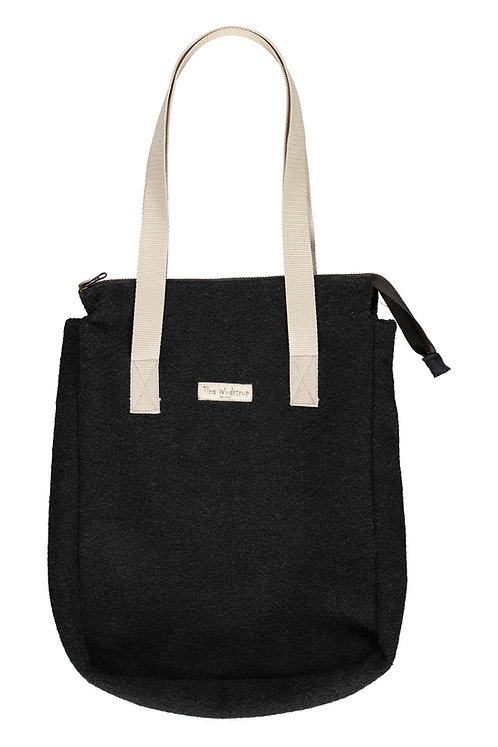 Acc6L - Wool bag - Black