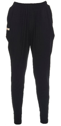 3790L - Baggy pants - Black