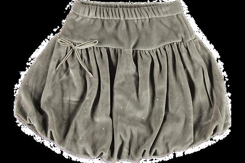 2177i - Velvet skirt - Stone