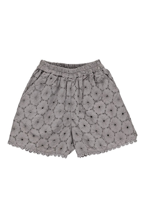 3826C - Embroidery shorts - Soft Rosa