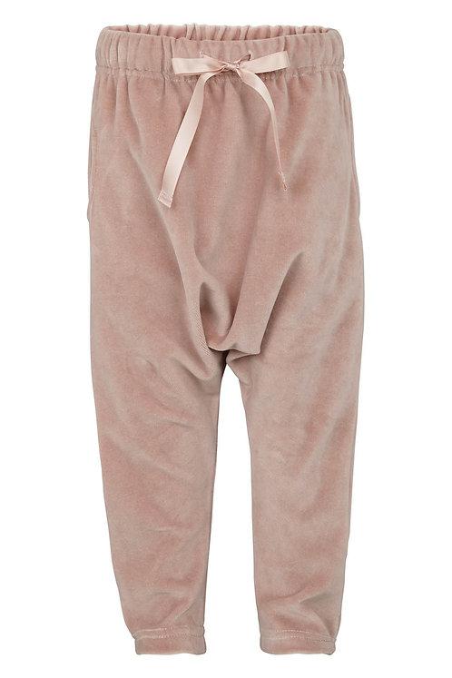 Velvet pants - Rosa