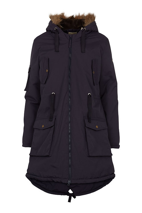 2476G - Parka Coat – Midnight blue
