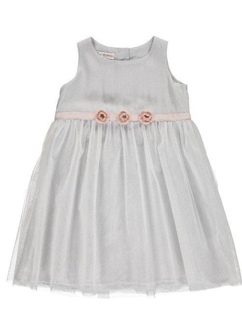 2888D - Dress w.tulle - Print