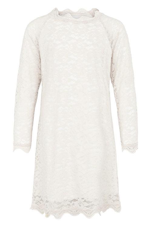 3461B - Lace Dress - Off.White