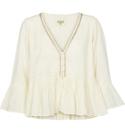 1883D - Cotton shirt - Off-white