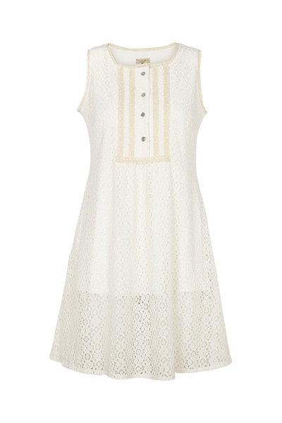 2326 - Tunica dress w.lace - Embroidery