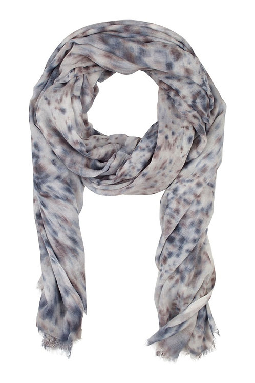 Modal scarf - Mix hand paint