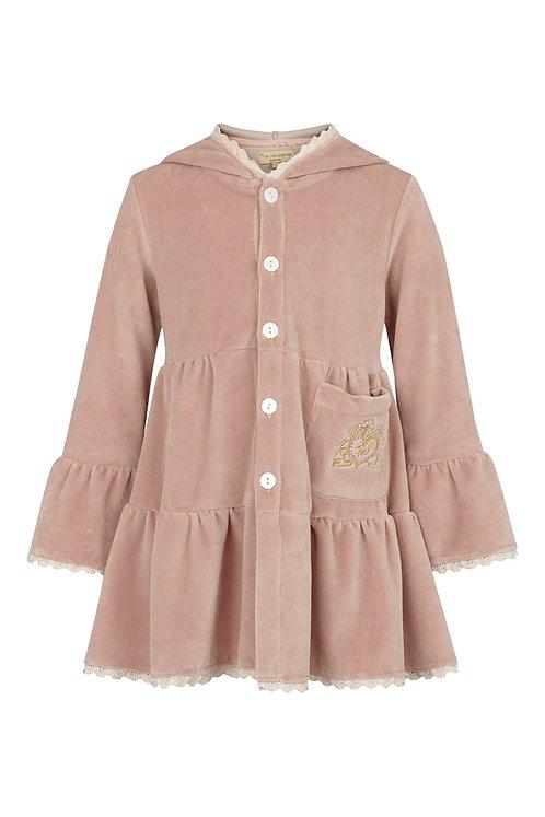 2649C - Coat - Rosa velvet