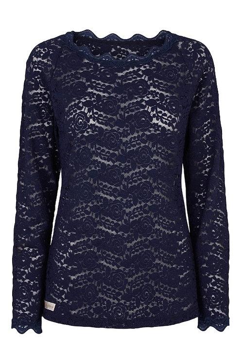 2831G - Lace blouse - Blue