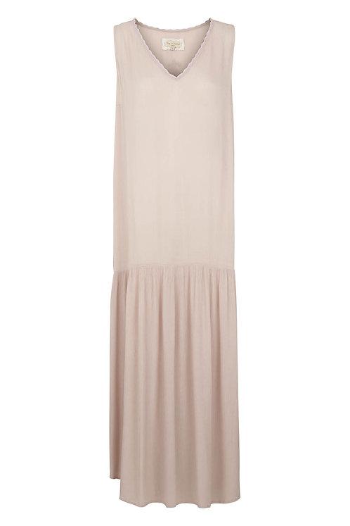 Viscose crepe dress - Purple