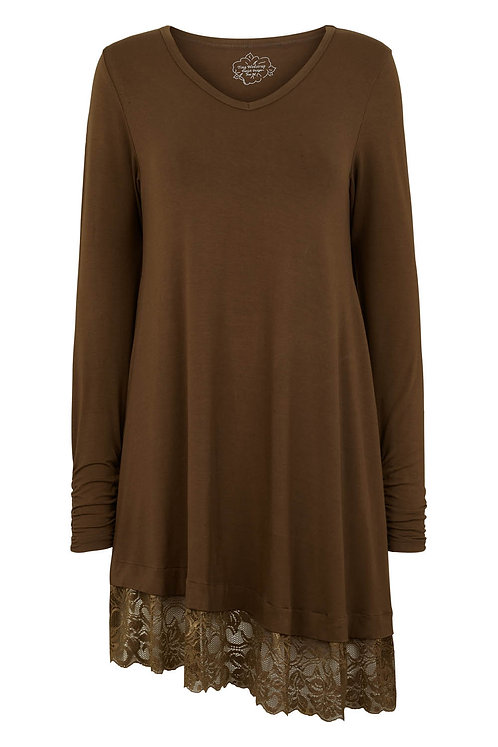 3470J - Viscose jersey tunica - Olive