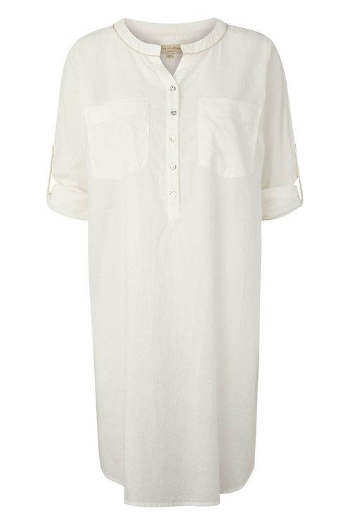Maxi shirt - Pearl
