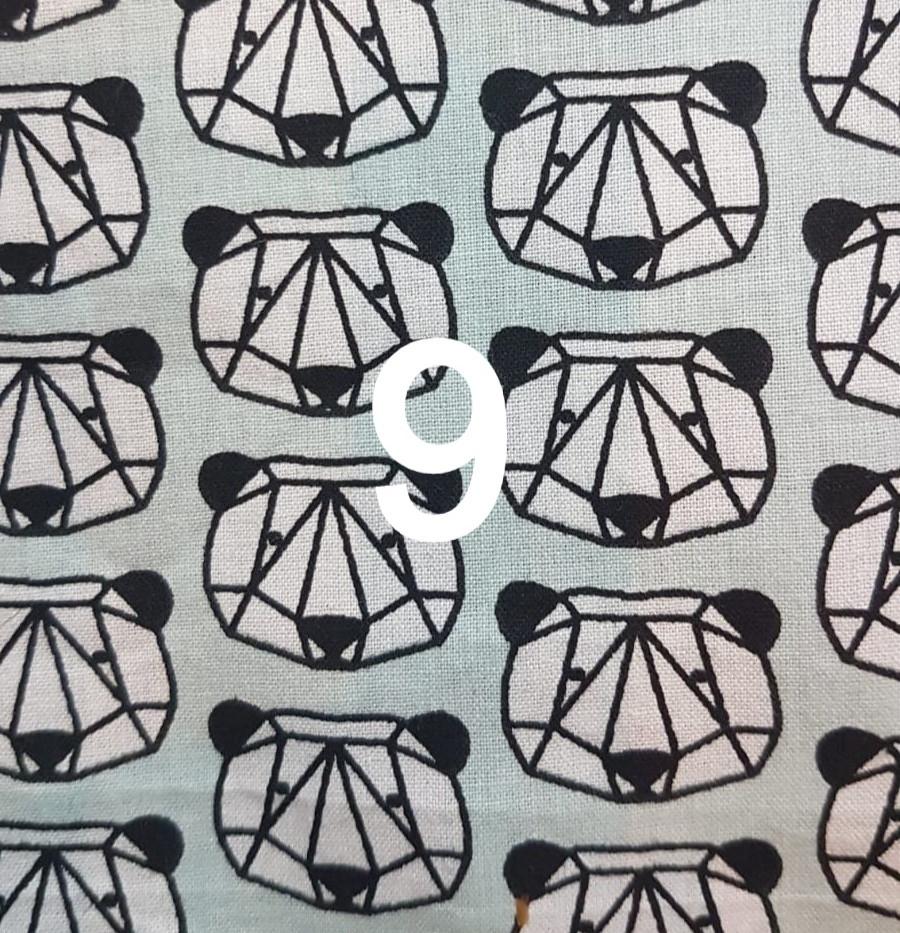 Tissu Panda 9