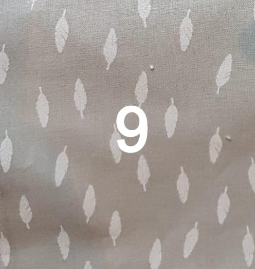 Tissu gris plume 9