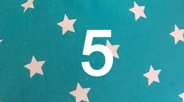 Tissu étoile 5