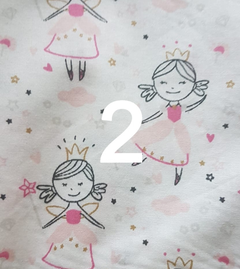 Tissu princesse 2
