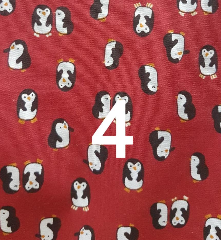 Tissu pinguin 4
