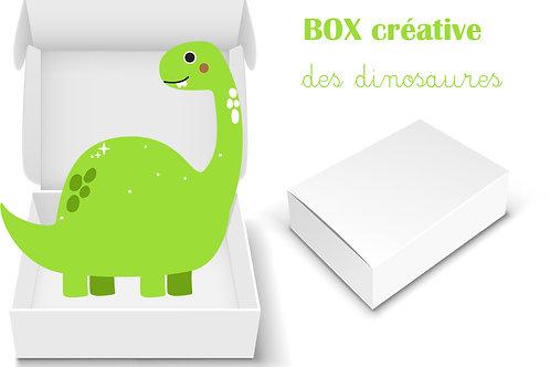BOX CREATIVE MATERNELLE : Dinosaure