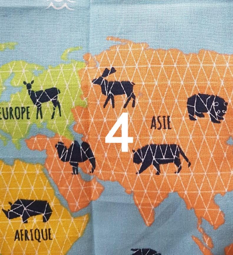 4. Tissu du monde