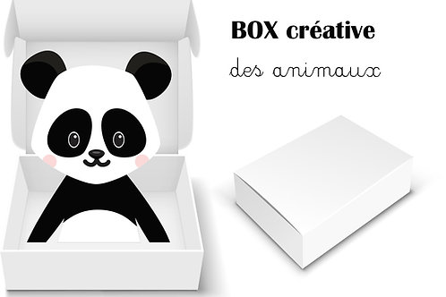 BOX CREATIVE MATERNELLE : Les animaux