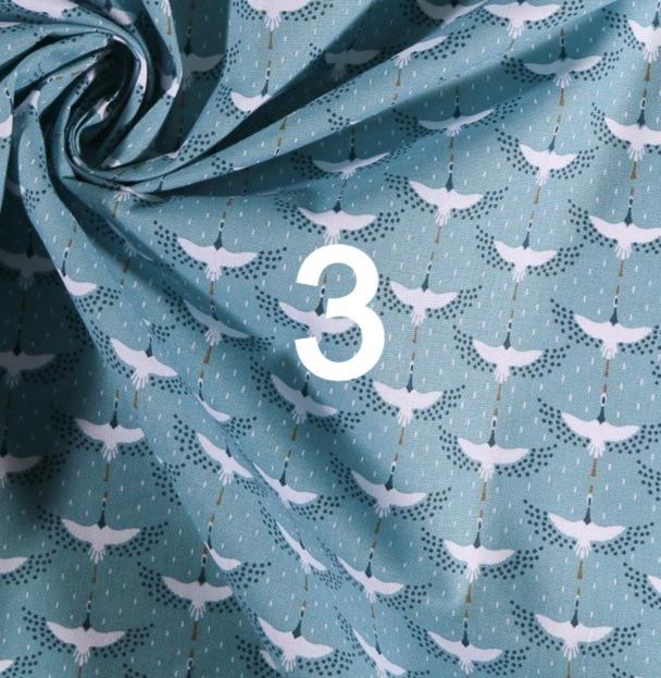 Tissu oiseau 3