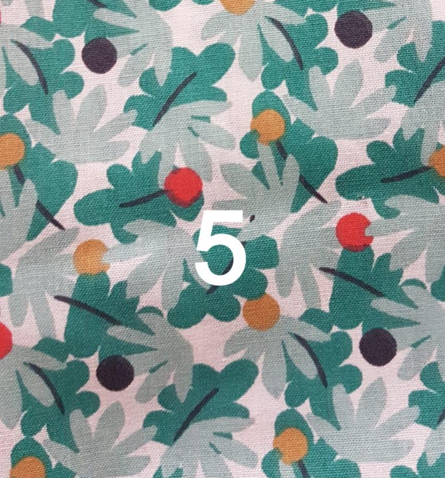 5. Tissu fleuillage
