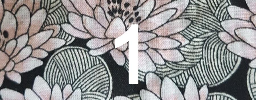 Tissu lotus 1