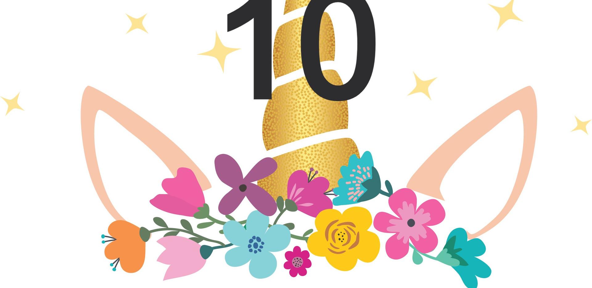 10. Licorne fleurie