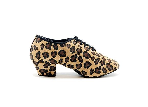 Scarpa da ballo e da allenamento leopardo vegana
