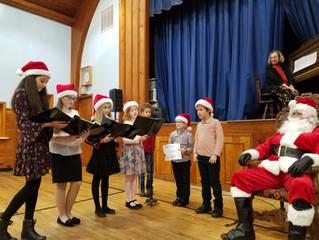 Jõulukirik ja Jõulupuu (BES Christmas Party)