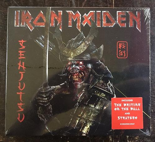 CD Iron Maiden - Senjutsu - Duplo - Digipack - Lançamento 2021